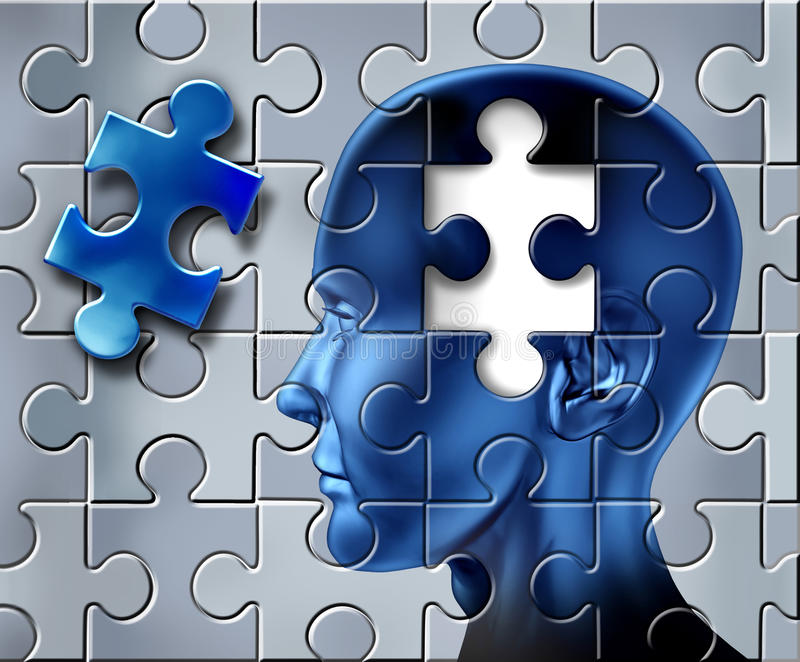 Intelligence et idées illustration stock