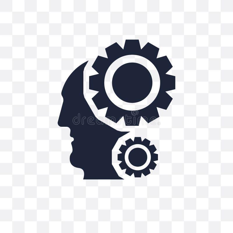 Intelligence transparent icon. Intelligence symbol design from A stock illustration
