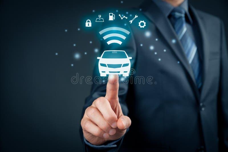 Intelligent bil royaltyfri foto