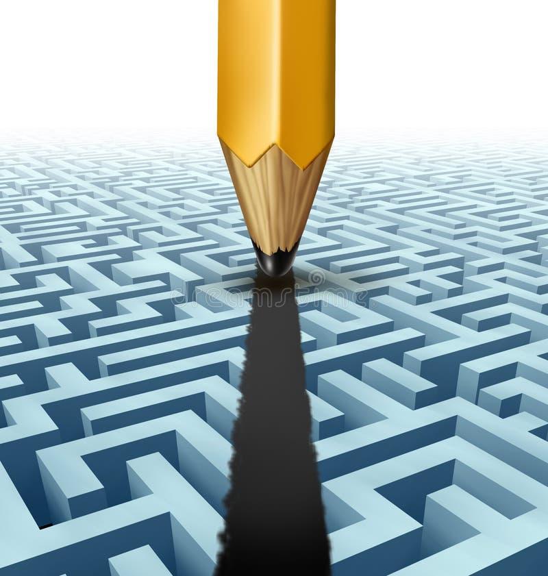 Download Intelligent Planning stock illustration. Image of ideas - 31671342