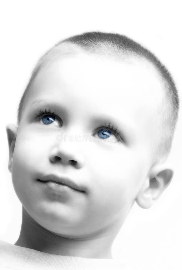 intelligent pojke royaltyfri foto