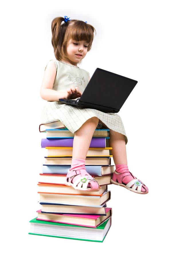 Intelligent pupil royalty free stock photo