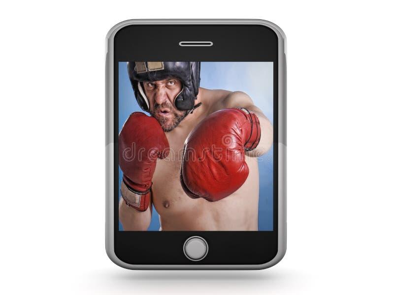 Intelligent-Telefon lizenzfreies stockfoto