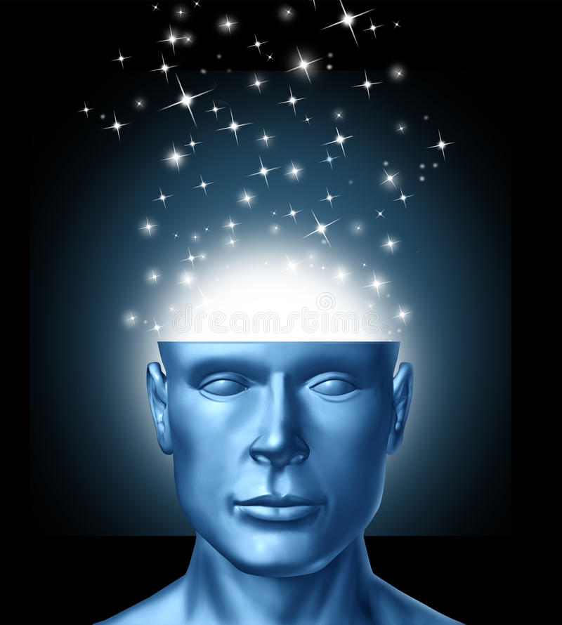 Intelligent Thinking royalty free illustration