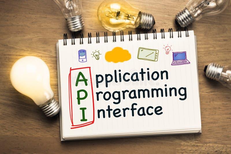 Intelligente API stock foto