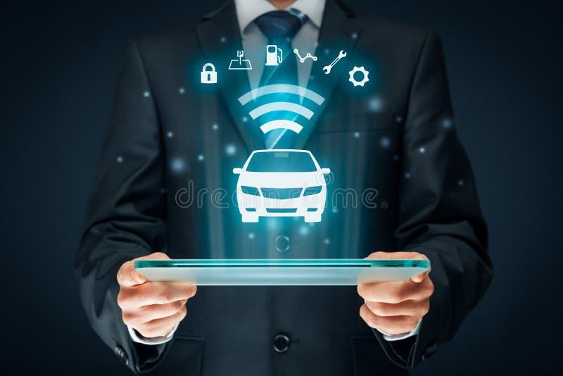 Intelligente auto stock afbeeldingen