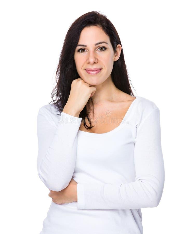 Intelligente Frau lizenzfreies stockfoto