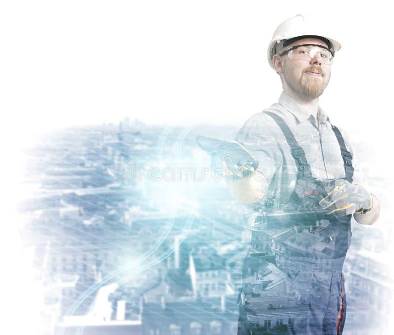 Intelligente Stadt lizenzfreies stockfoto