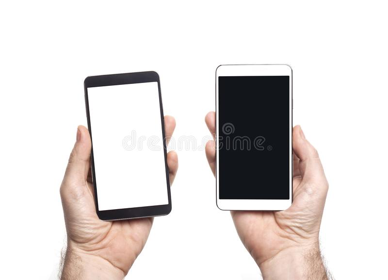 Intelligente Telefone stockbild