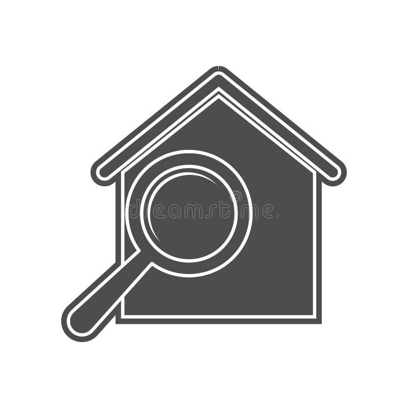 intelligente Uhr mit einer Zeitplanikone Element von minimalistic f?r bewegliches Konzept und Netz Appsikone Glyph, flache Ikone  stock abbildung