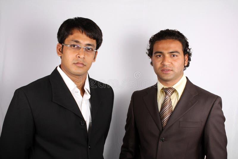 Intelligenter indischer Geschäftsmann stockbilder