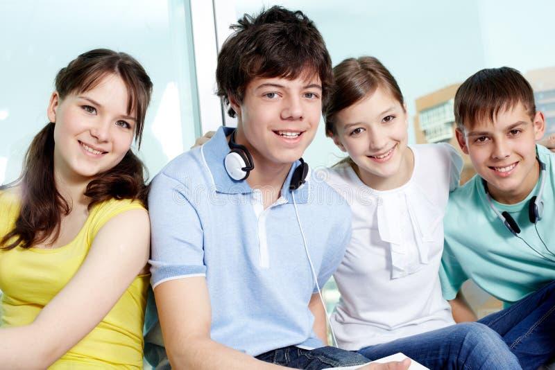 Intelligenter Teenager stockfoto