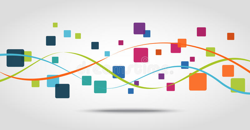 Intelligenter Telefon apps Ikonen-Konzepthintergrund vektor abbildung