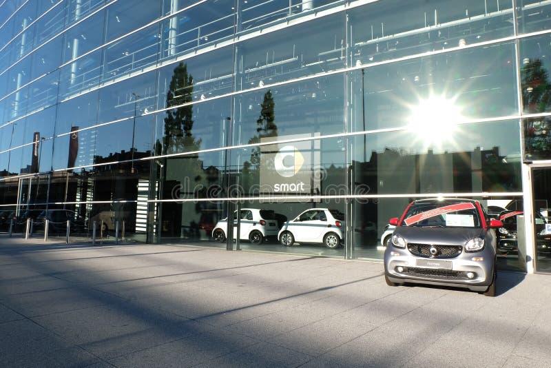 Intelligentes Auto, Mercedes Benz Munich lizenzfreie stockfotos