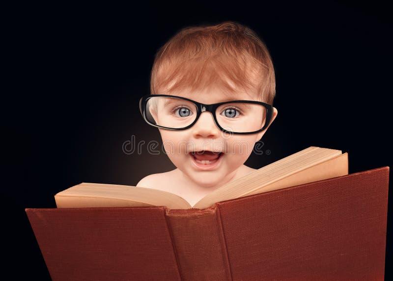 Intelligentes Baby-Lesebildungs-Buch auf lokalisiertem Hintergrund lizenzfreies stockbild