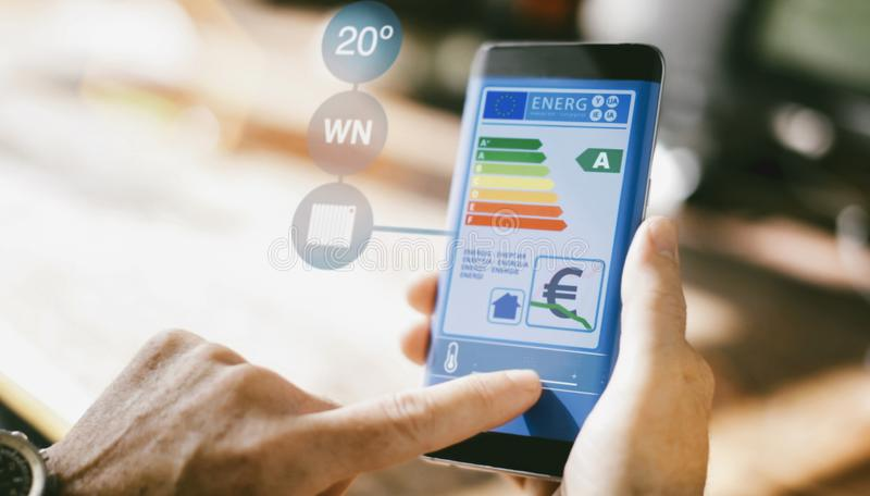 Intelligentes Hauptgerät - Hauptsteuerung lizenzfreies stockbild