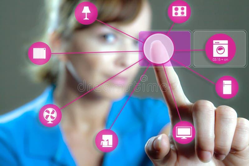 Intelligentes Hauptgerät - Hauptsteuerung lizenzfreies stockfoto