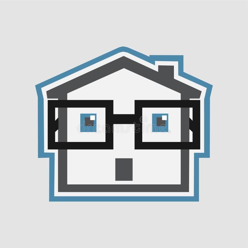 Intelligentes Haus vektor abbildung
