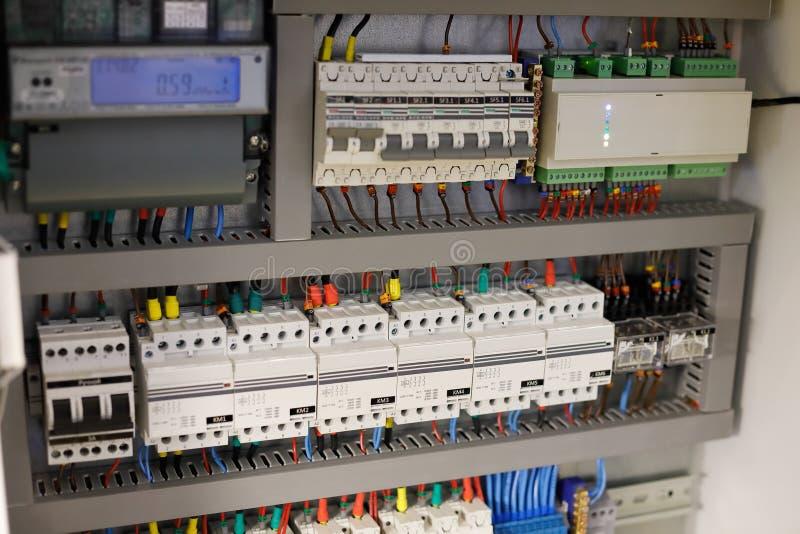 Intelligentes Hausautomationssystem stockfoto