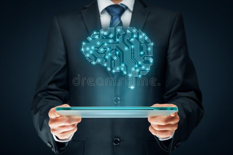 Intelligenza artificiale fotografie stock libere da diritti