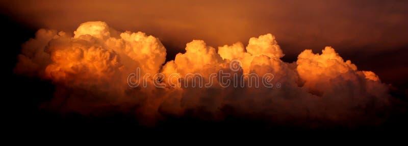 Intense Onweerswolken stock afbeelding