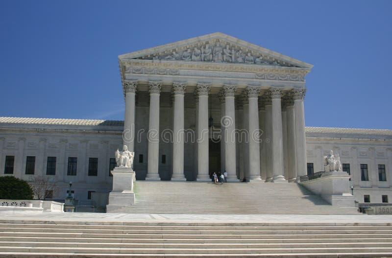 Intensifie à la court suprême (Washington, le C.C) image libre de droits