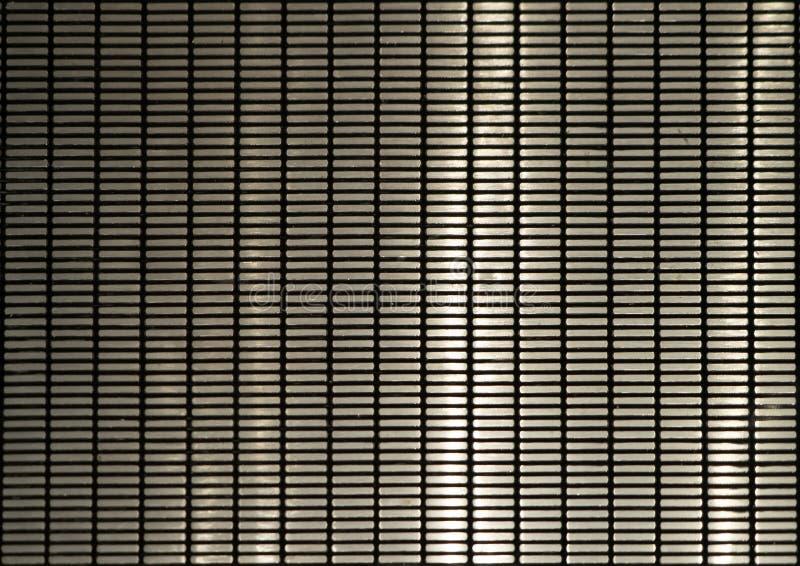 Intensité Texture de surface en acier métallique foncé Gros plan du matériel d'architecture intérieure pour la décoration photographie stock libre de droits