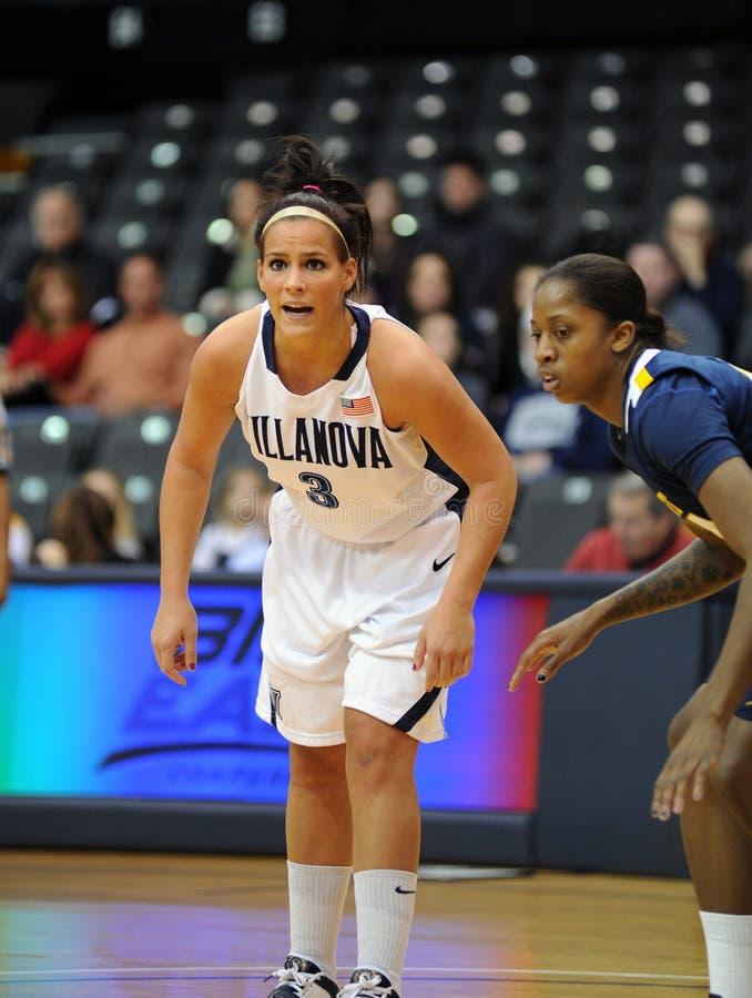 Intensity - Villanova Ladies Basketball Editorial Stock Image