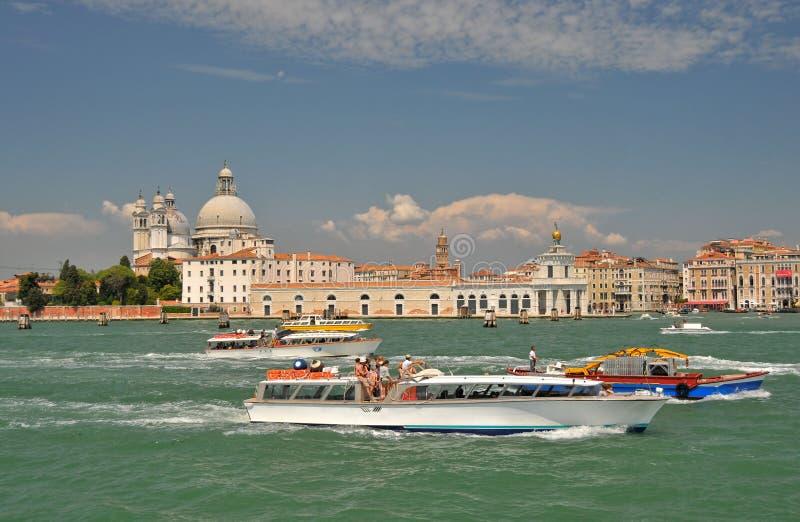 Intensive venetianische Bewegung stockbild