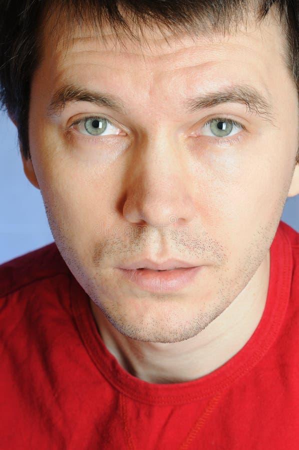 Download Intent gaze. stock photo. Image of portrait, look, studio - 13272580