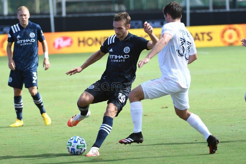 Inter Miami CF vs New York City FC - Orlando Florida USA stock foto's