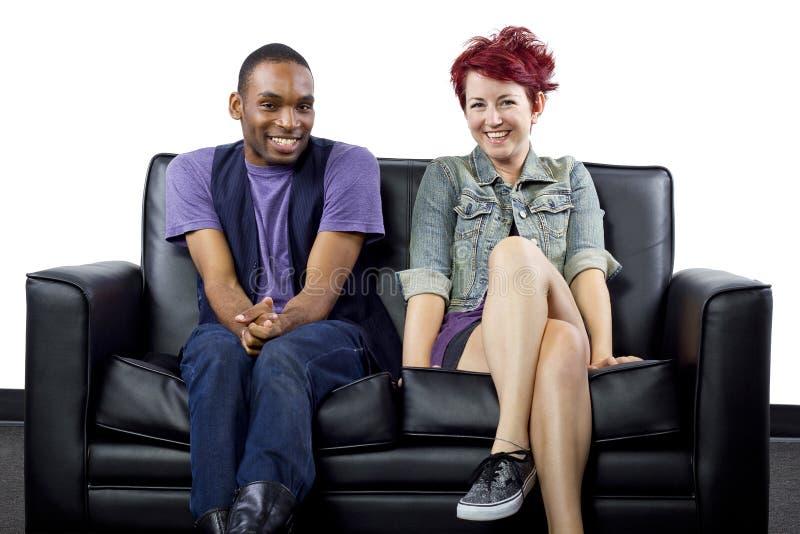 Inter-Racial Couple Stock Photos