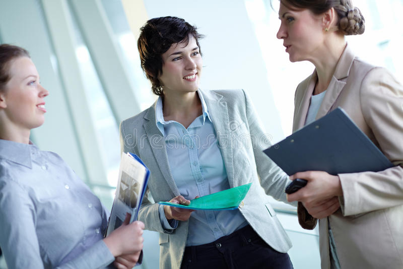 Download Interacting Females Stock Image - Image: 25942211