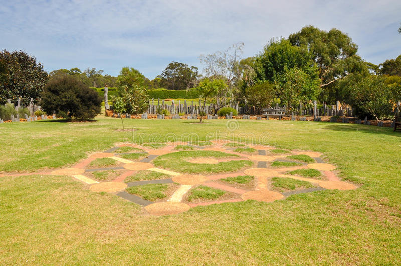 Interactive Maze: Amaze'n Margaret River stock image