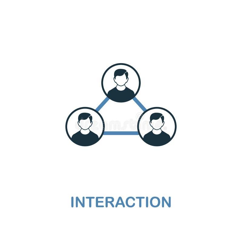 Interakcji ikona Dwa kolorów premii projekt od zarządzanie ikon inkasowych Piksel doskonalić prosta piktogram interakcji ikona UX ilustracja wektor