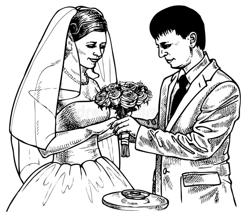 Intercambio de anillos libre illustration