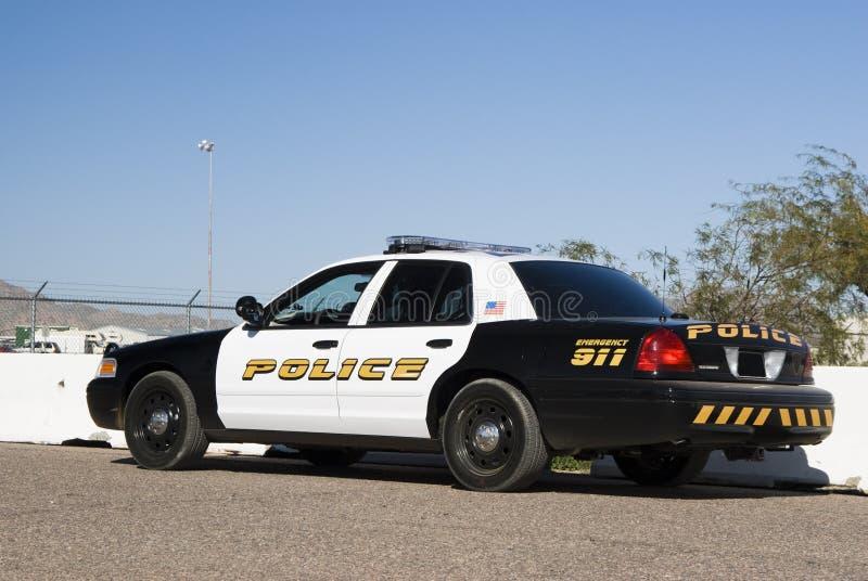 Interceptor da polícia foto de stock