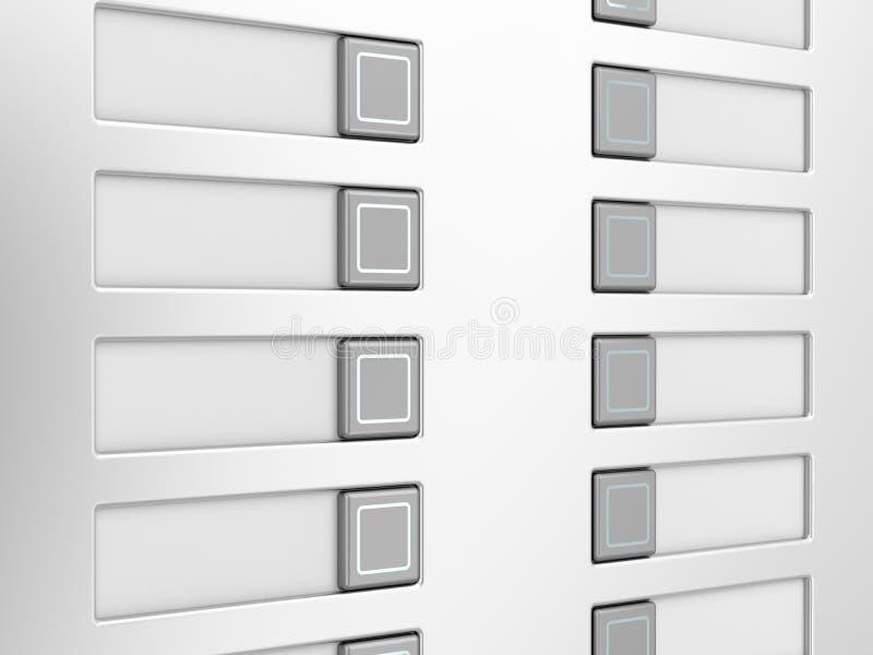 Download Intercom stock illustration. Illustration of side, entrance - 34369227