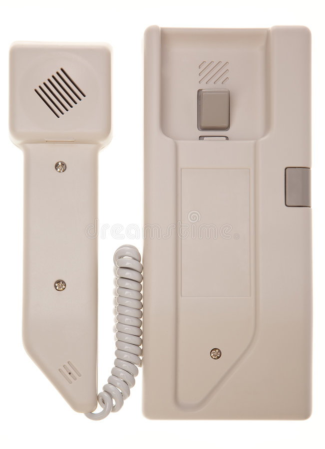 Intercom phone royalty free stock photos