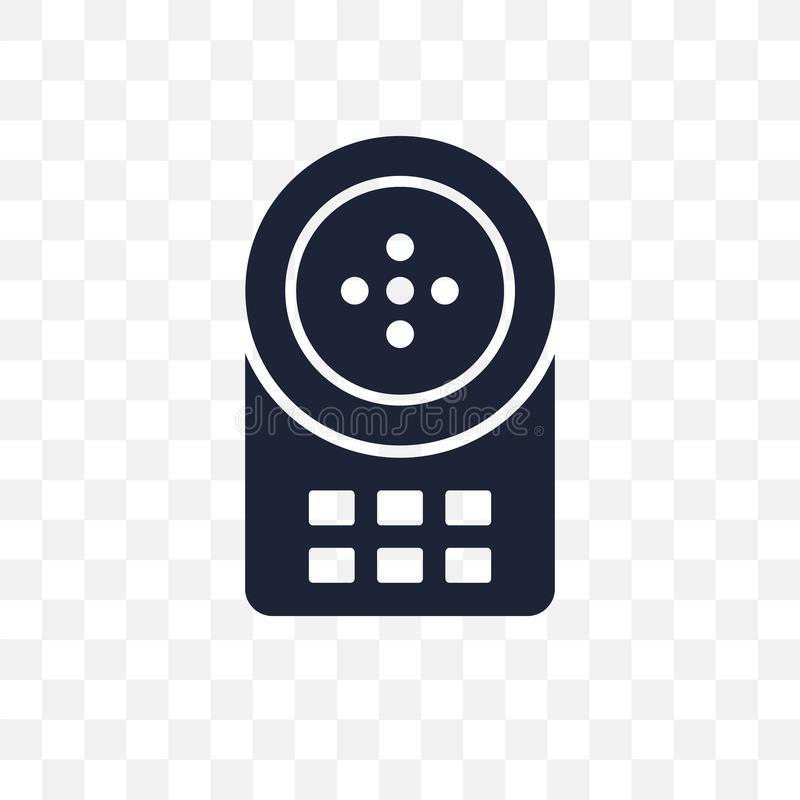 Intercom transparent icon. Intercom symbol design from Smarthome collection. royalty free illustration