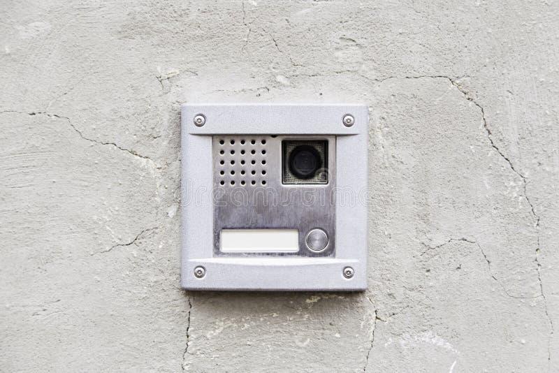 Intercomunicador moderno foto de archivo