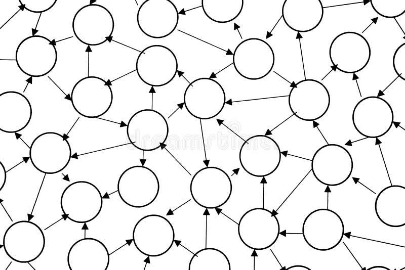 interconnectivité illustration libre de droits