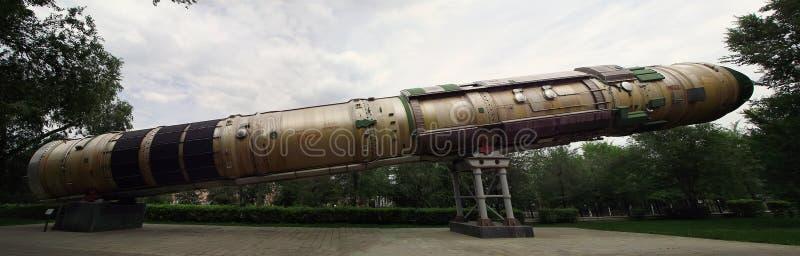 Intercontinentaal ballistisch projectiel royalty-vrije stock afbeelding