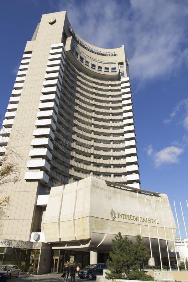 Intercontinental Hotel royalty free stock photos