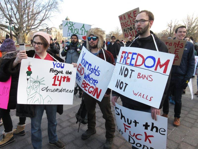 Interdictions de liberté pas image stock