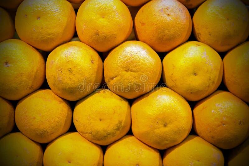Intere arance mature fotografie stock