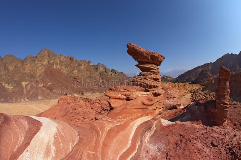 Interessante Formulare des Sandsteins - Hoodoos lizenzfreie stockfotografie