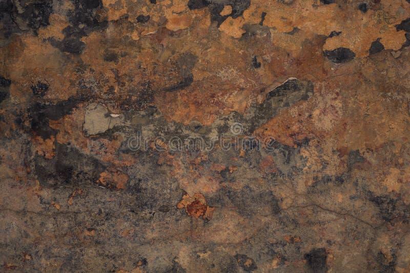 Interessanter Hintergrund braune Schmutzhintergrundwand lizenzfreies stockbild