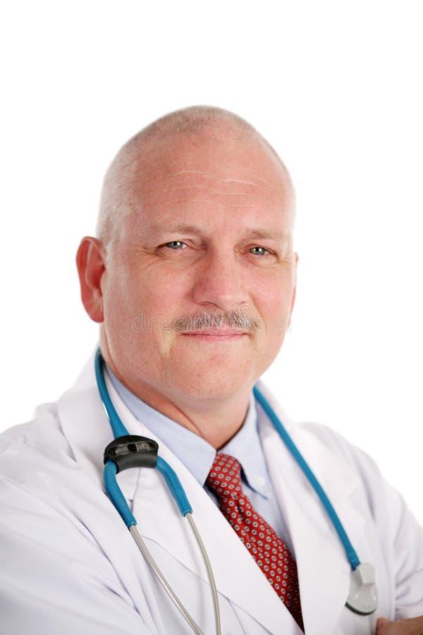 Interessierender Arzt stockfoto