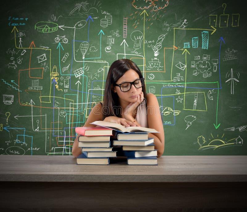 Interessierter Lehrer stockbilder